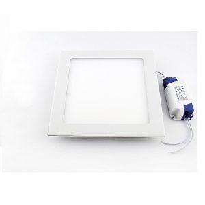 Đèn LED Âm Trần Siêu Mỏng Vuông 9W Vàng