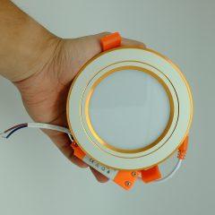 Đèn LED Âm Trần Mặt Vàng
