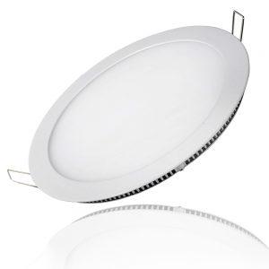 Đèn LED Âm Trần Siêu Mỏng Tròn 6W Trắng