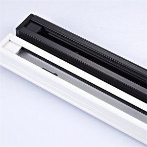 Thanh Ray Cài Đèn LED 1.5 Mét Đen