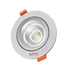 Đèn LED Âm Trần 5W Mặt Kính COB Trắng