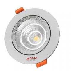 Đèn LED âm trần mặt kính COB 7W