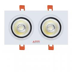 Đèn LED âm trần đôi Asia