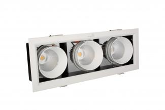 Đèn LED âm trần hộp ba Kingled