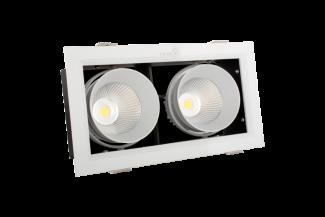 Đèn LED âm trần hộp đôi Kingled