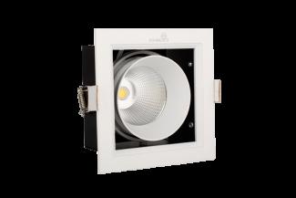 Đèn LED âm trần hộp đơn Kingled