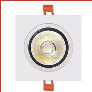 Đèn LED Âm Trần 10W Hộp Đơn Ánh Sáng Vàng