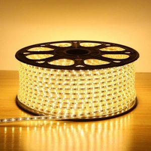Đèn Led dây Silicon Màu Vàng