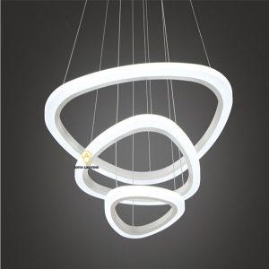 Đèn LED Thả Trang Trí TRIANGLE RING