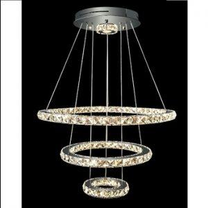 Đèn LED thả trang trí kim cương DPA – 007