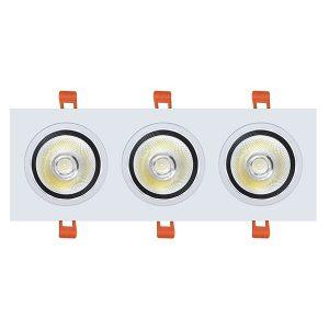 Đèn LED Âm Trần 30W Hộp Đôi Ánh Sáng Trắng