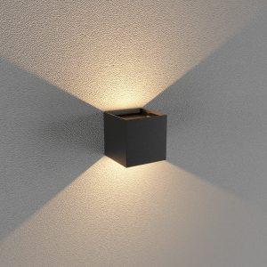 Đèn Trang Trí Tường Vuông Đen LWA803-BK