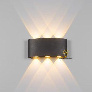 Đèn Trang Trí Tường Ngoài Trời Đen A9905D