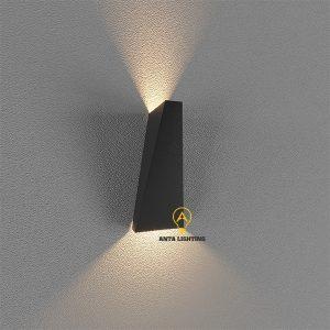 Đèn Trang Trí Tường Hình Thang Đen B004D