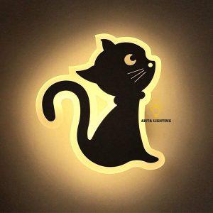 Đèn Trang Trí Tường Hình Con Mèo B012ASV
