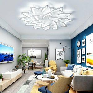 Đèn LED Trần Trang Trí 3 Màu DAPA 14 Hoa